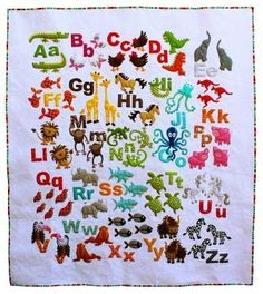Animal Alphabet pattern here