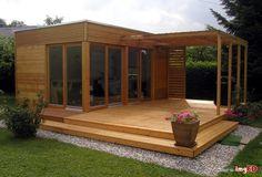 Domek drewniany modułowy bez pozwolenia - Zdjęcie na imgED