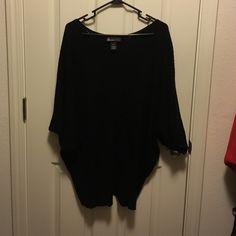 Knit Top Three quarter sleeved, knit, Kabuki top. Lane Bryant Tops Tees - Short Sleeve