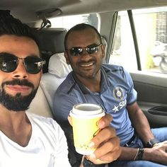 @virat.kohli: Always a good chat with my man mr Sridhar. Off for a long break before we hit th