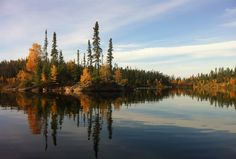 Lovely fall colours at Forest House Wilderness Lodge - located in northern #Saskatchewan