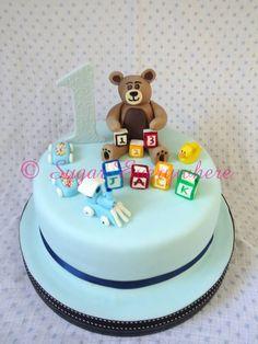Jack's first birthday cake