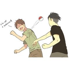|| Artist: Eryen-Art || Not gonna lie, I wouldn't mind having Eren trapped in a Pokéball...