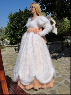 E Mohair Sweater, Sweater Outfits, Knitwear, High Low, Wool, Wedding Dresses, Sweaters, Fashion, Bride Dresses