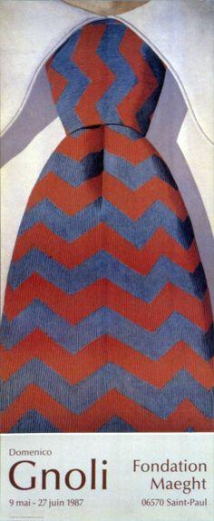 Domenico Gnoli - Necktie