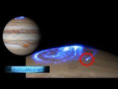 WHOA!!! NASA CAPTURES MASSIVE UFO OVER JUPITER Auroras!!? RUSSIA UFO DISPLAY 2016 - YouTube