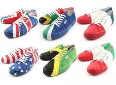 Scarpe Superga: le sneakers con le bandiere