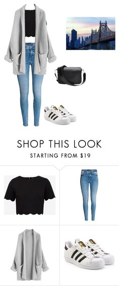 """""""Casual day"""" by nereblogger on Polyvore featuring moda, Ted Baker y adidas Originals"""
