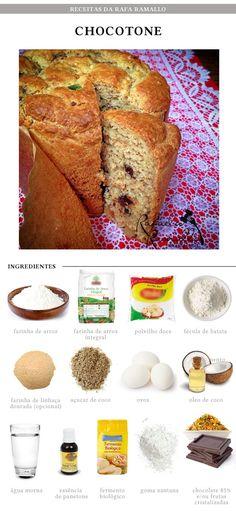 Fit Chef (de Natal!): Chocotone | CAROL BUFFARA