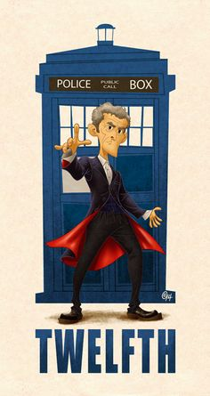 Here's the new full series, starting with the most recent Doctor and working backwards through time.
