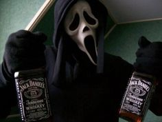 Do you like scary movies and Jack Daniels? Aesthetic Images, White Aesthetic, Aesthetic Grunge, Aesthetic Photo, Aesthetic Wallpapers, Alien Aesthetic, Jack Daniels, Scream Movie, Ghost Faces