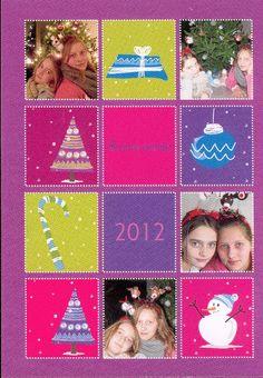 Vœux 2012 Noëlie et Méline