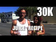 GREEN DRINK AT 30K - JUICING RECIPE. http://www.fitlife.tv https://www.facebook.com/VegetableJuicing