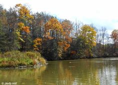 Pennsylvania & Beyond Travel Blog: Historic Penn's Cave and Wildlife Park in Centre Hall - This is a photo of Nittany Lake, located right outside of State College. Read our blog post to learn more. #FallinPA