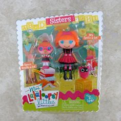 Bea Spells-a-Lot Specs Reads-a-Lot Sisters Mini Lalaloopsy Doll New 2 Pack Set #Dolls