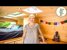 VanLife as Long Term Housing Solution for Solo Female + Epic Camper Van Tour Camper Life, Rv Life, Camper Van, Campers, Quartzsite Arizona, Bus Living, Tiny Living, Simple Living, Ford Transit Camper
