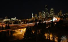 View of downtown #Seattle from Jose Rizal Bridge