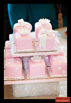 Indian Weddings Inspirations. Pink Mini Wedding Cakes. Repinned by #indianweddingsmag indianweddingsmag.com