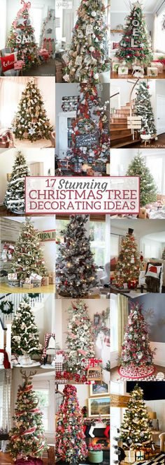 A Brick Home: Christmas tree decorating ideas, christmas tree ideas, christmas tree decorations, christmas tree themes, christmas decorations, christmas tree