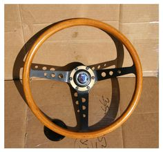 Alpina Steering Wheel  (Vintage Mahogany Wooden BMW Steering Wheel)