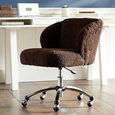 Polar Bear Wingback Desk Chair PBteen office Pinterest
