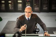 Mark Strong sweater in Kingsman