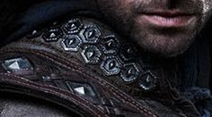 Kili | Dwarf | Brigandine style armor close up | Costume detail | The Hobbit (Jackson 2012) From In a Hole in the Ground: Protecting the Crew: Thorin & Company's Armor
