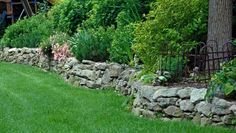 This is a nice stone wall - looks a bit like the stone you showed me yesterday
