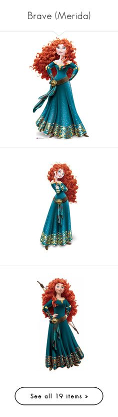 """Brave (Merida)"" by asia-12 ❤ liked on Polyvore featuring disney, brave, disney princesses and merida"