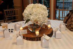 Simple and elegant! #centerpieces #weddingcenterpieces