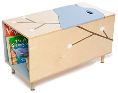 The MaudeToy Box With Book Cubby