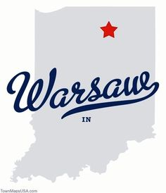Warsaw, IN. home.❤
