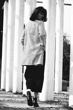Me Charlotte von Bonin Stuttgart Germany Outfit von Tissu Hipster Edel