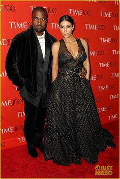 Kim Kardashian & Kanye West Pranked by Amy Schumer on Time 100 Red Carpet!