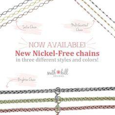Nickel-free chains