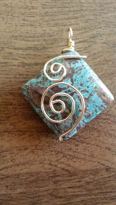 Wire wrapped pendant                                                       …