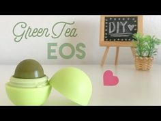 Green tea flavor eos. Could be nice inside the pusheen eos container!