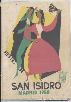 PROGRAMA FIESTAS DE SAN ISIDRO, MADRID 1958. BALDRICH, PAREDES JARDIEL. PREGÓN DE VICTOR DE LA SERNA (Coleccionismo - Laminas, Programas y Otros Documentos)