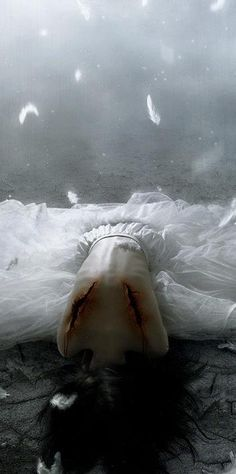 Virginia killed the angel because it only caused her a bigger struggle and wanted her to change.