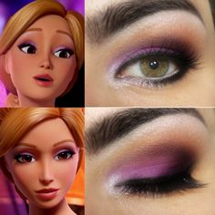 Maquiagem inspirada na Barbie Butterfly
