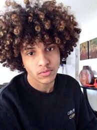 12 Best Mens Curly Hair Color Trends Images Man Hair Styles