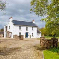 Ballymorris House, home of Irish author Eoin Colfer, is on the market. House Outside Design, The Hitchhiker, Guide To The Galaxy, Author, Cabin, House Styles, Irish, Plants, Home Decor