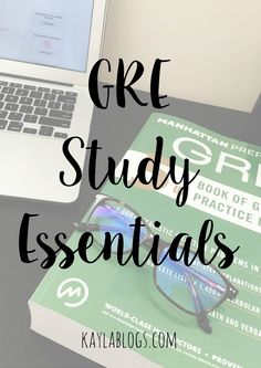 This post has all of the GRE study essentials you'll need! Featuring my favorite computer glasses for studying and taking online exams. Gre Test, Test Prep, E Learning, Blended Learning, Pa School, Graduate School, School Stuff, School Info, Study Tips