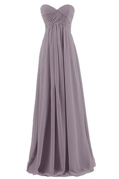 Simple A-line Sweetheart Floor-length Bridesmaid/Prom/Homecoming Dress With Pleats