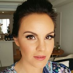 This makeup was created for my stunning Bride Rachael who used Italian Vogue as her inspo for an all white wedding. She wanted a full coverage in her foundation with defined cheeks, winged black liner and big lashes. Hair was upstyles into in a textured low bun just above the nape of the neck
