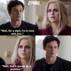 "#iZombie 1x09 ""Patriot Games"" - Liv and Lowell"