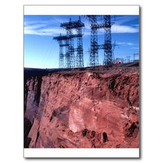 Red cliff Power lines Postcard This site is will advise you where to buyThis Deals Red cliff Power lines Postcard lowest price Fast Shipping and save your money Now! Thank You Postcards, Postcard Design, Cliff, Postcard Size, Smudging, Paper Texture, Vacation, Store, Easy