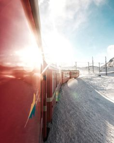 Another way to enjoy the beauty of @engadin.stmoritz is to take...