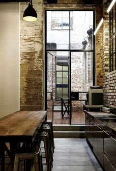 exposed // #kitchen #interiordesign #architecture