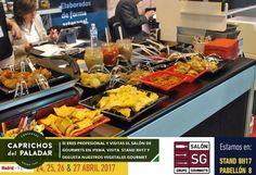 Si eres profesional del sector de la restauración y piensas acudir a la Feria de Salon de Gourmets, no dejes de visitar nuestro stand 8H17 y degusta nuestros vegetales gourmets, ¡ te sorprenderán por su textura y sabores tradicionales !
